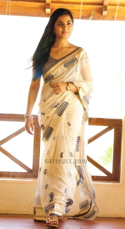 Tamil-actress-srushti_dange-transparent-saree-photoshoot-July-2015