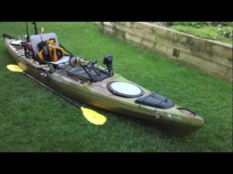 How to rig a fishing kayak totally awesome fishing show for Youtube kayak fishing