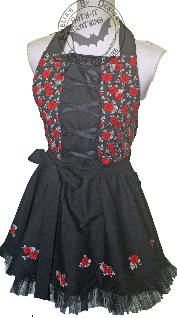Gothicd Insired aprons