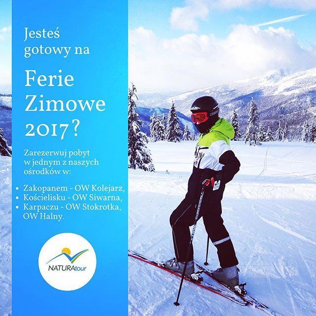 #zima #nadchodzi #wielkimi  #krokami !#czas #pomyśleć o #feriach #zimowych ❄️#narty ⛷#snowboard 🏂? Wszystko to znajdziecie w polskich #górach !Zapraszamy do naszych ośrodków w #kościelisku #karpaczu #zakopanem 🙂