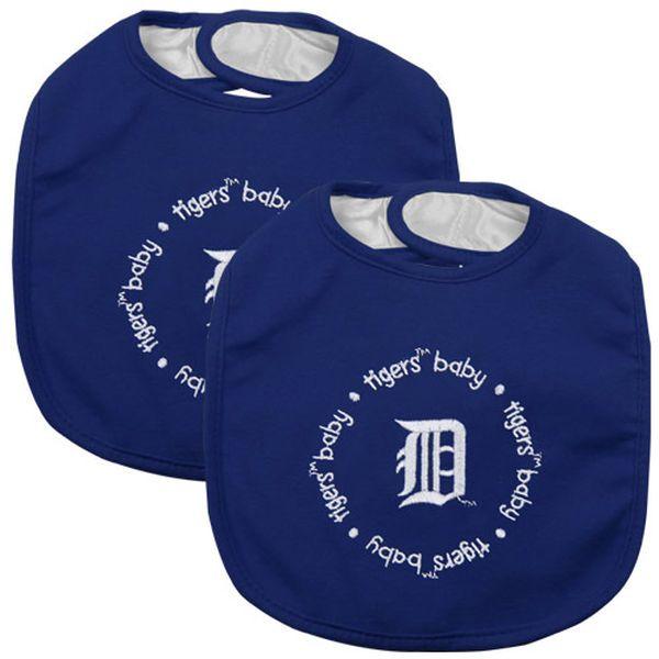 Detroit Tigers 2-Pack Baby Bibs – Navy Blue - $14.99