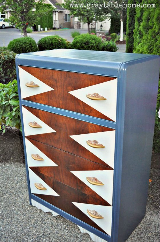 145 best images about art deco waterfall furniture on for Diy art deco furniture