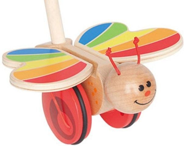 Hape - Push Pal Butterfly 2 #EntropyWishList #PinToWin I can just see Hannah toddling along pushing this gorgeous butterfly!