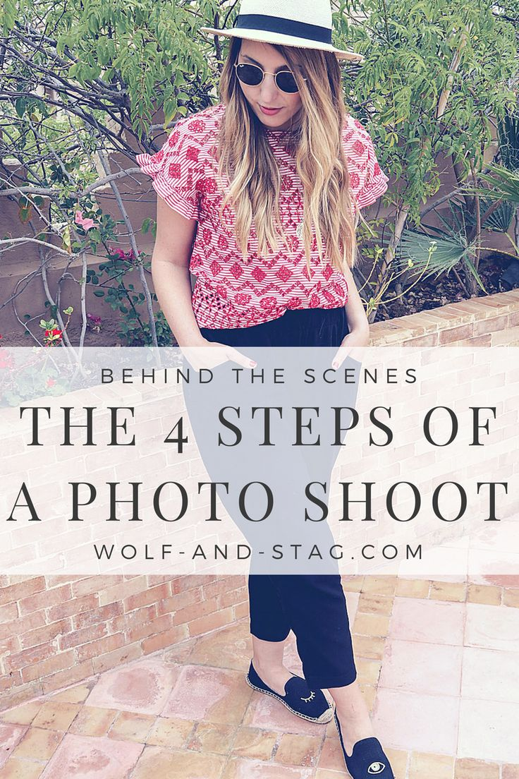 Ever wanted to know what goes on behind a blogging photo shoot? In this blog post, I recount the (unintentional?) hilarity that often ensues, giving you a glimpse into the life of a blogger -- and imparting some learned words of wisdom, too. | Wolf & Stag