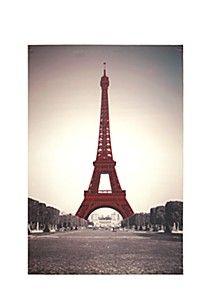 EIFFEL TOWER 60X90CM WALL ART - LOVE LOVE LOVE