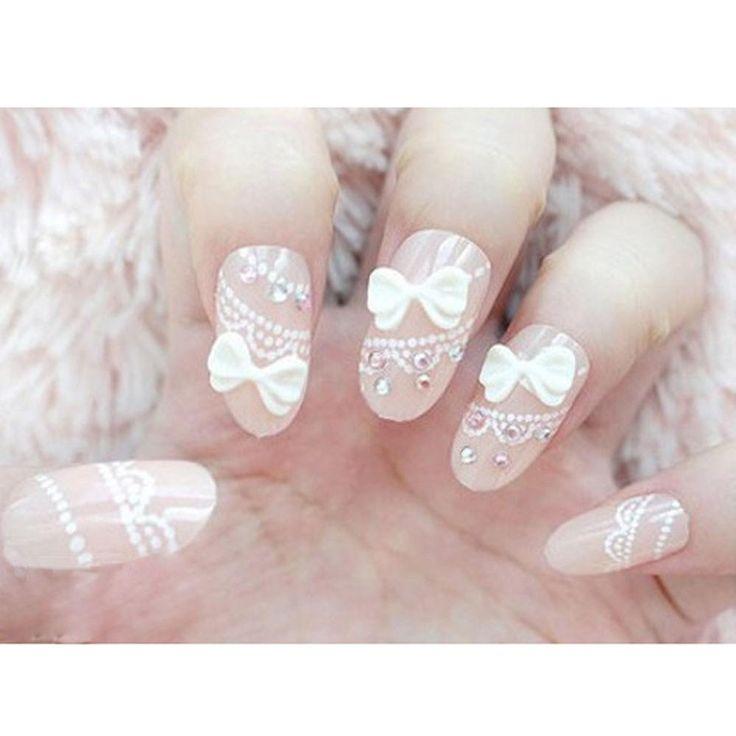 Vente en gros de nouvelle arrivée d'ongle acrylique blanc faux nail tips fausse nails