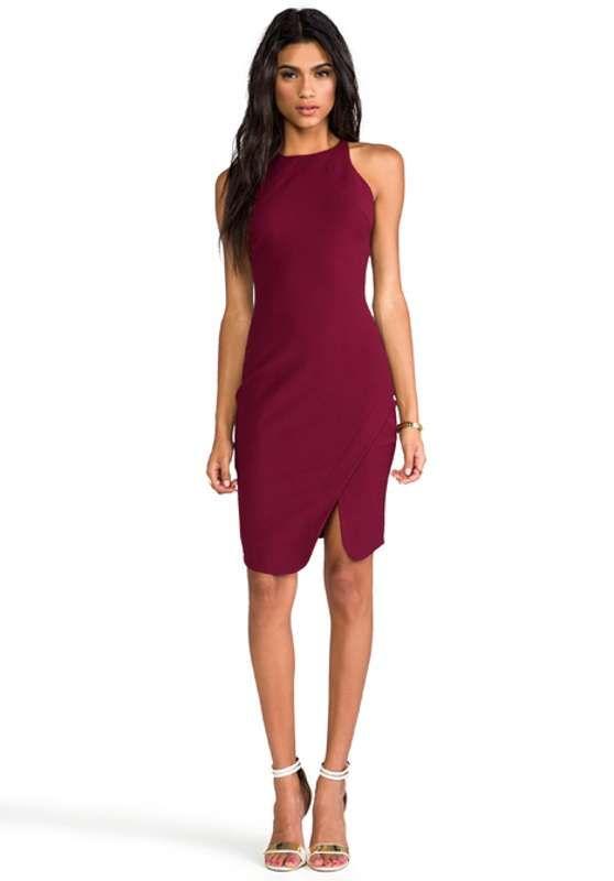 Las 25+ mejores ideas sobre Vestidos color vino cortos en Pinterest | Vestidos de color vino ...