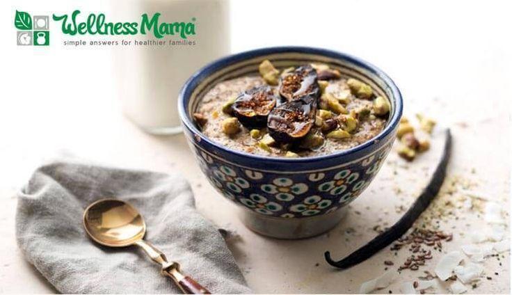 Chia and Coconut Porridge Recipe Coconut Chia Porridge