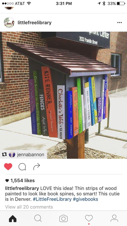 Little free library idea