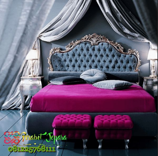 Set Kamar Tidur Mewah terbaru 2017 harga murah kode fktm 001 dibuat oleh para pengrajin asli furniture kamar tidur jepara,
