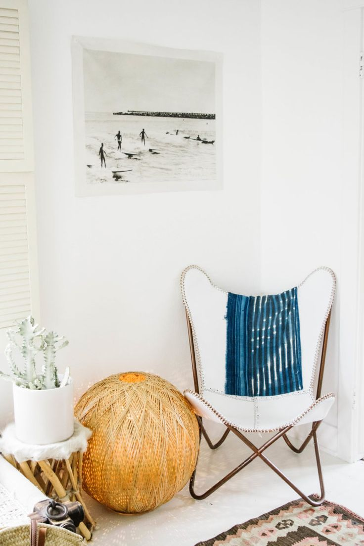 B&B Travels: Bohemian House on the Venice Canals | The Butcher's Daughter Airbnb | Bright and Airy Beach Bungalow | via Birch & Brass Vintage Rentals for Weddings and Special Events in Austin, TX