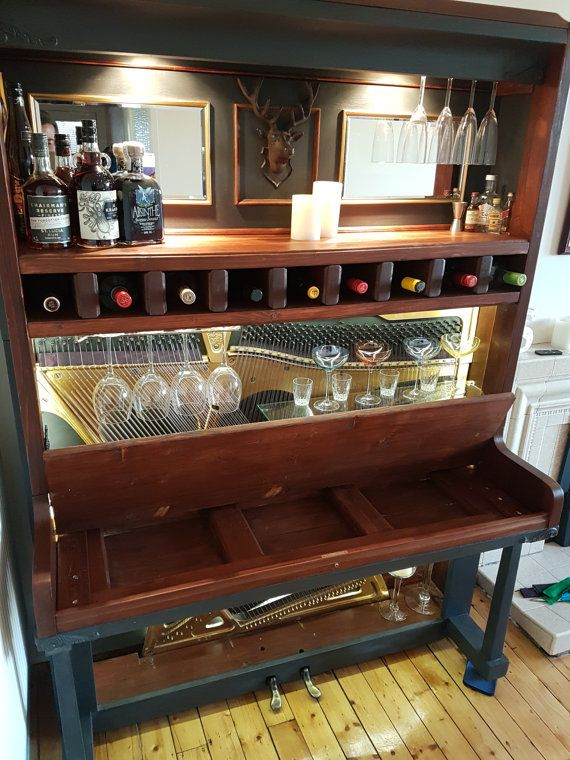 Piano bar by FrenchyCo on Etsy