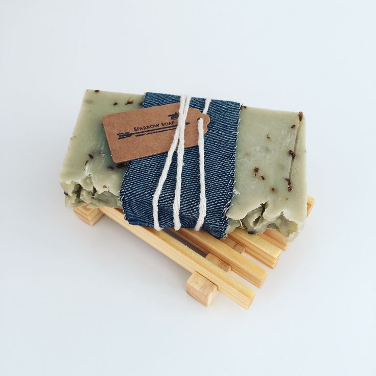 Woodland - large bar. Handmade artisan soap by Sparrow Soap, Perth, Western Australia.
