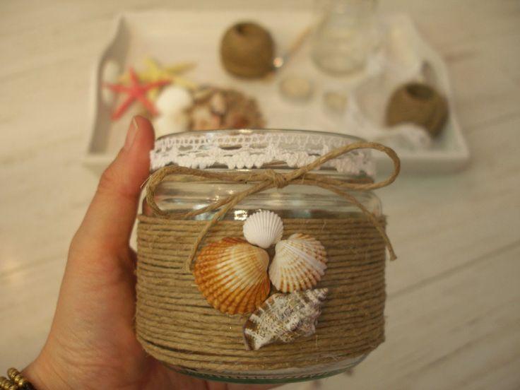 Best 25 tarros de cristal ideas on pinterest decorar - Frascos de vidrio decorados ...