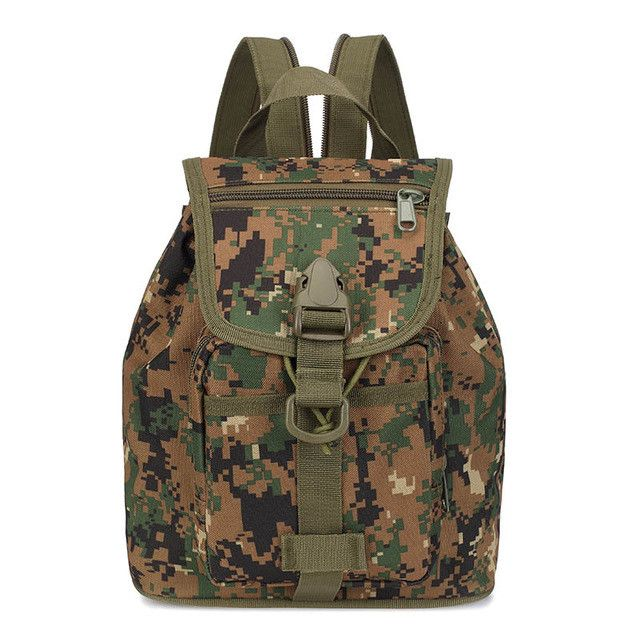 New Arrival Waterproof Oxford Casual Camouflage Backpack For Man Multifunction Small Mochila para hombre