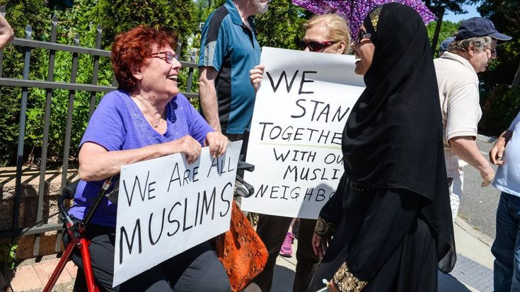 Muslims welcome outpouring of support at Eid holiday fest