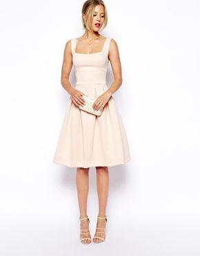 Image 4 of ASOS Debutant Full Midi Dress