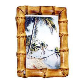Bamboo 54 Natural Picture Frame (Common: 4-In X 6-In; Actual: 5-In X 7-In) 1617