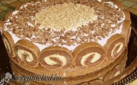 Gesztenye torta recept fotóval