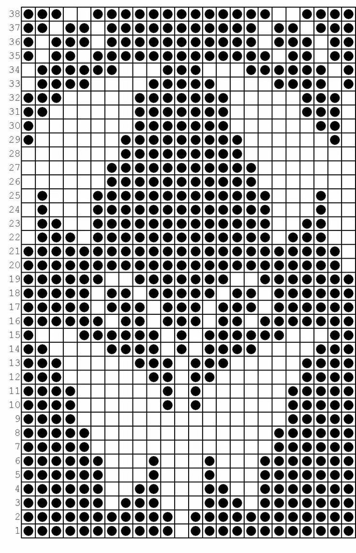 картинки для вязания спицами со схемами