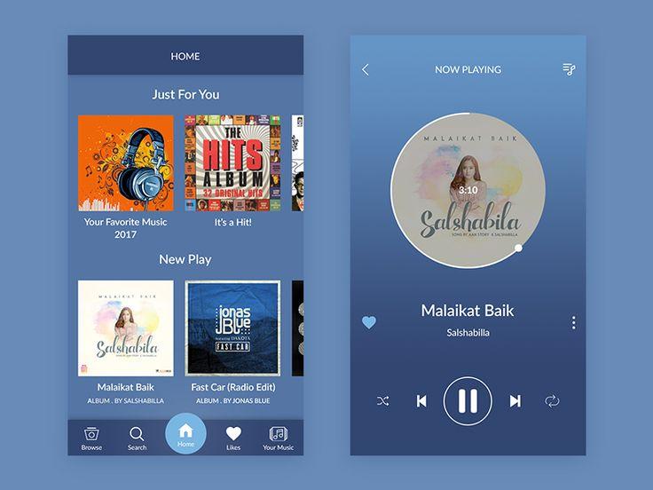 Music App by Haidar Ali Yusuf