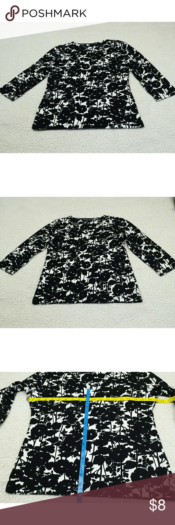 JONES NEW YORK  signature black & white  (  M  ) JONES NEW YORK  signature black & white  (  M  ) Jones New York Tops Blouses
