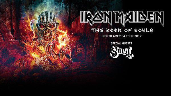 Enter for your chance to see Iron Maiden in Charlotte!