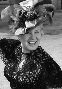 """Shirley Booth, in the film """"The Matchmaker"""" from which """"Hello, Dolly"""" is based."""