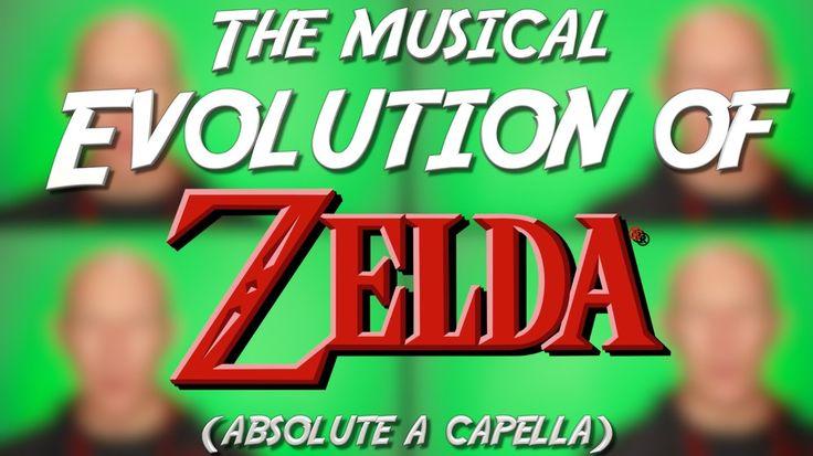 Die Evolution der ZELDA Musik - Komplett A Capella   Ein Jonas Wagner Cover