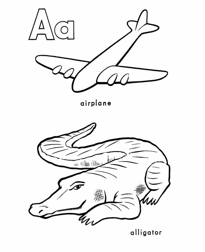 34 best coloring pages images on pinterest | coloring sheets ... - Letter A Alligator Coloring Pages