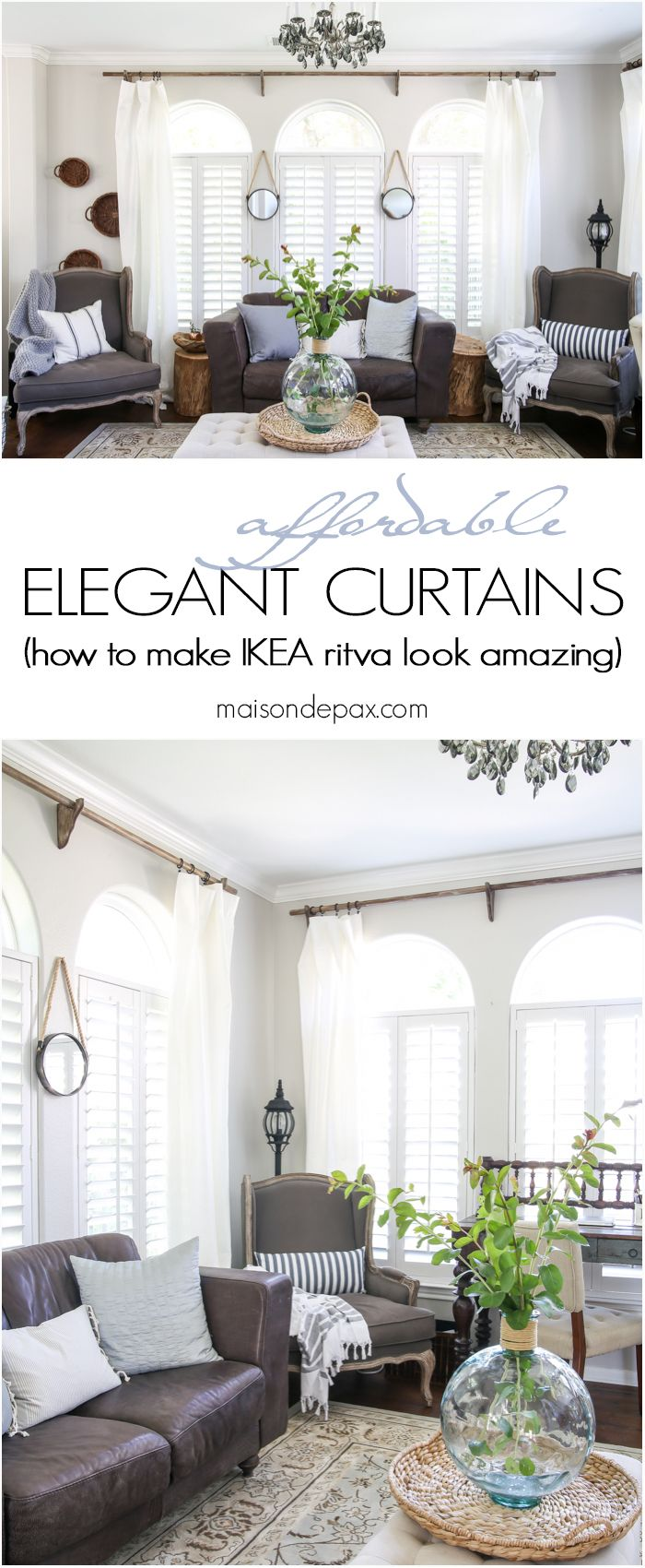 17 Images About Build Ikea Panel Curtain On Pinterest: 17 Best Images About Curtain Looks On Pinterest