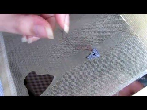 Double sided stitch, Coala with PAG embroidery technique - YouTube