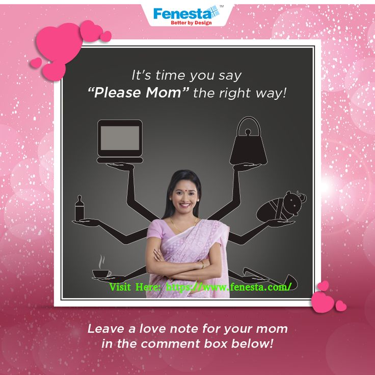 We are just a few days away from Mother's Day and Fenesta Windows is celebrating Motherhood with an exciting contest. She is a perfectionist at everything she does except, taking care of herself! So this Mother's Day, show her you care for her.