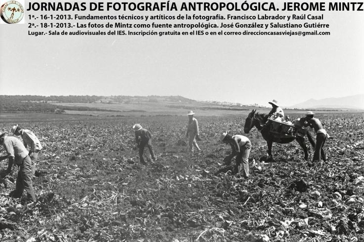 Desde la historia de Casas Viejas: Jornadas de divulgación de la fotografía antropológica