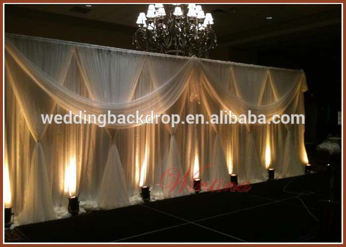 wholesale pipe and drape wedding stage backdrop decoration