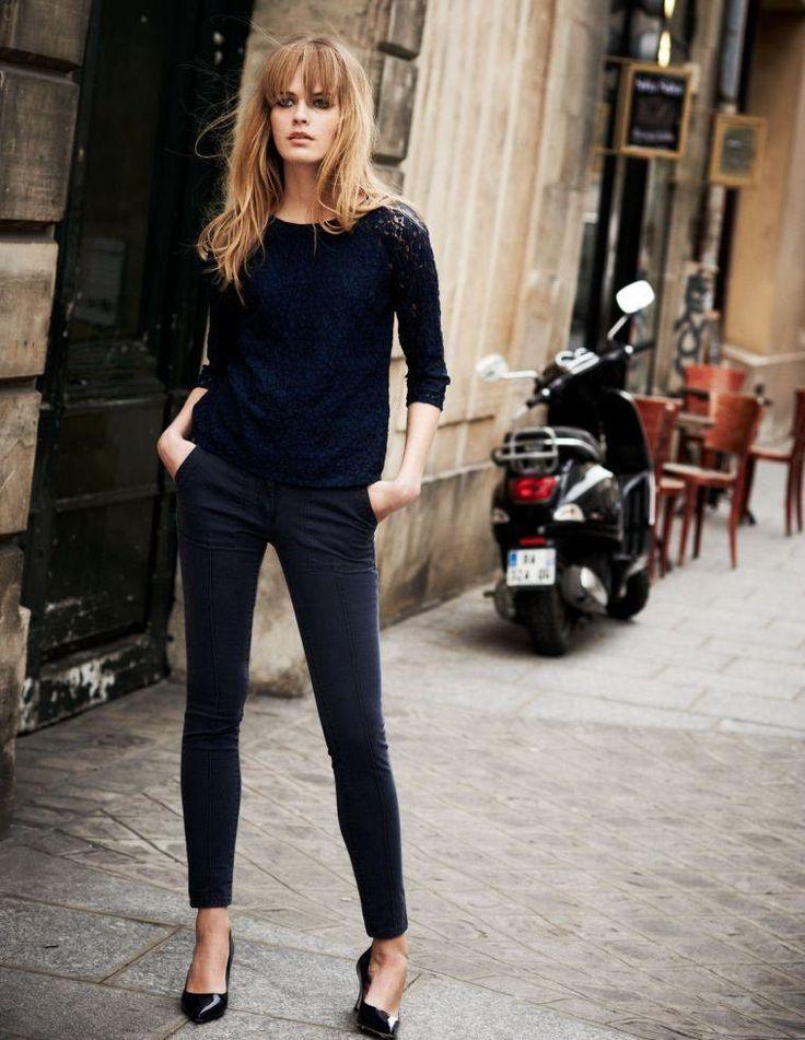 style casual chic : idée pour femme                                                                                                                                                      Plus