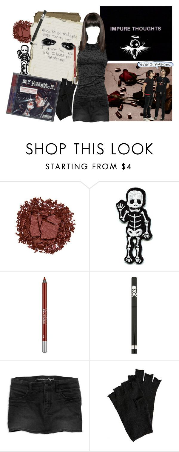 """Mood: Quizilla Fanfiction"" by pastel-poisons ❤ liked on Polyvore featuring Nexus, Urban Decay, American Eagle Outfitters, AllSaints, urbandecay, emo, Revenge, mcr and ponandzi"