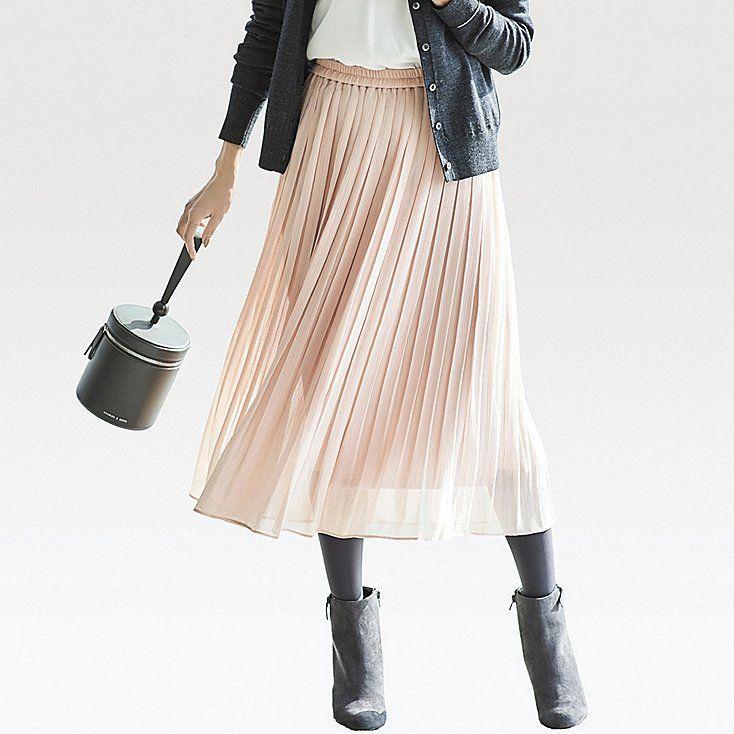 7429bdbc4080ba JUPE PLISSÉE TAILLE HAUTE FEMME | Mode | Jupe plissée, Jupe plissée ...