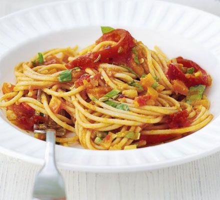 Super veg pasta - recipe