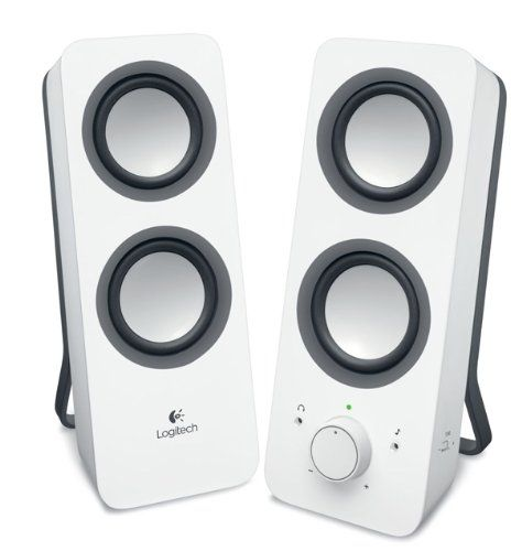 Logitech Multimedia Speakers Z200 with Stereo Sound for M...