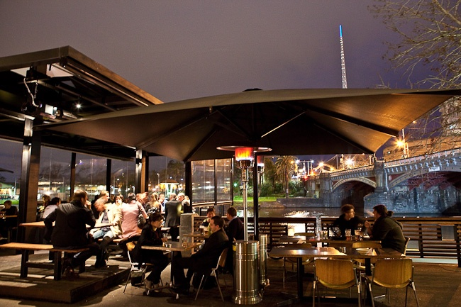 Riverland Bar - outdoor bar in melbourne CBD