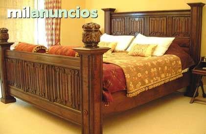 Resultado de imagen de camas de madera rusticas