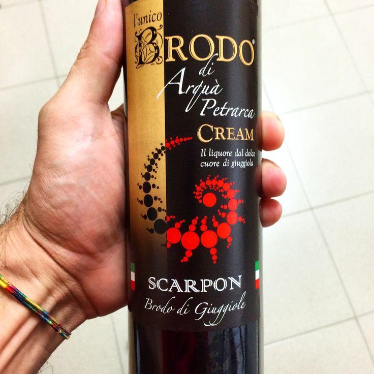 Brodo di giuggiole versione Cream !  16 gradi di estasi...  Only Scarpon