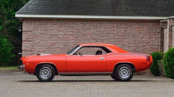 1970 Plymouth Barracuda For Sale Allcollectorcars Com Plymouth