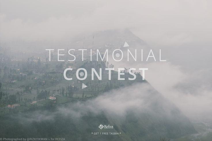 TESTIMONIAL CONTEST info selengkapnya kunjungi instagram @refizasouvenir