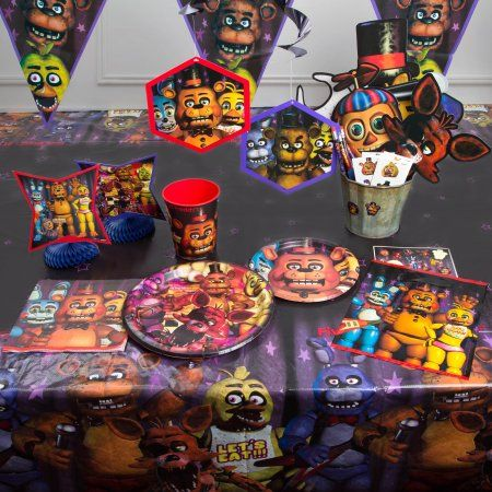 Five Nights At Freddy S Party Supplies Five Nights Of