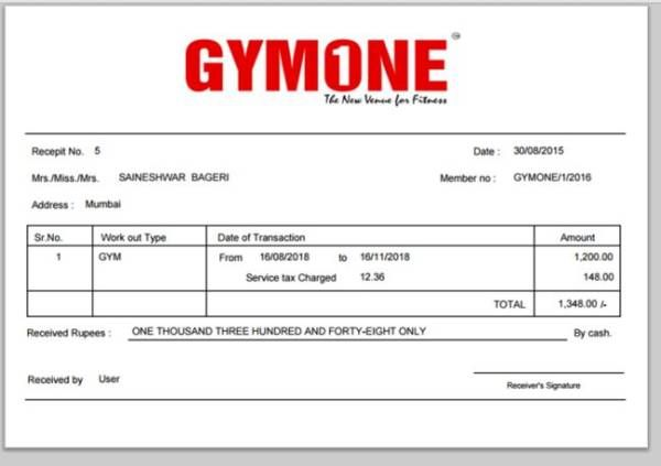 Amp Pinterest In Action Invoice Template Gym Membership Gym Membership Card