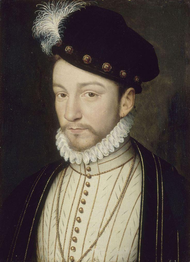François Clouet - Charles IX