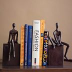 Elephant Bookends Set of 2 White - Transitional - Bookends - by Pizzazz! Home Decor, LLC