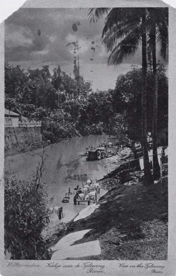 Sungai Ciliwung, 1925